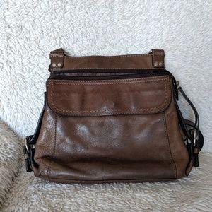 Genuine Leather Fossil Shoulder Bag